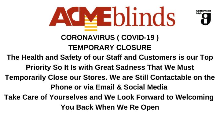 Covid 19 Temporary Closure