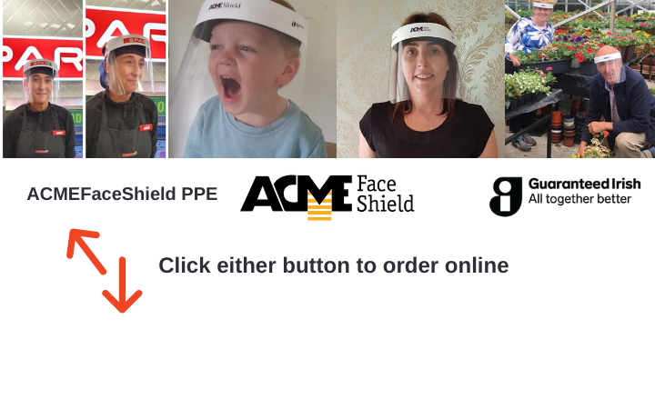 Order your ACME Face Shield online today