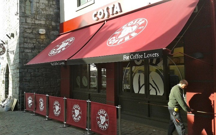 Make the most of your business with an awning.