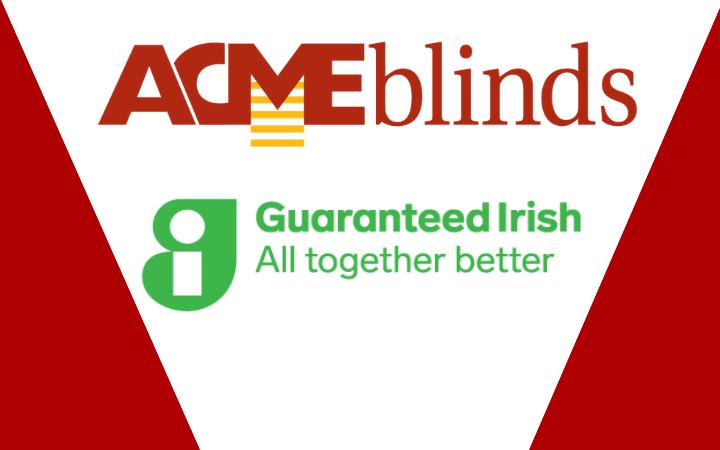 Proud to carry the Guaranteed Irish symbol