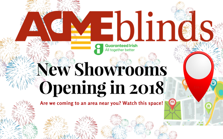 New Showrooms in 2018