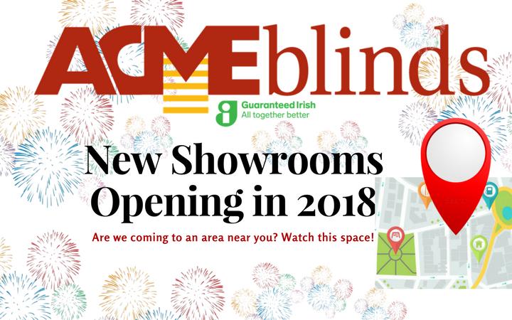 New Showrooms in 2018