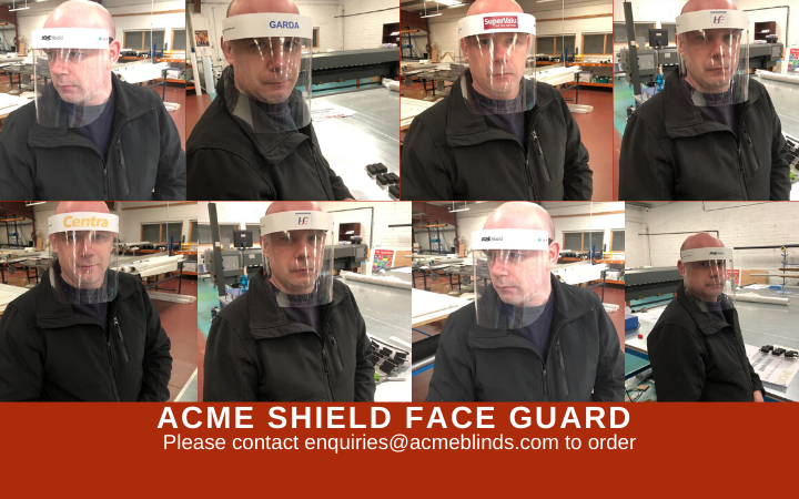 ACME Face Shield now available