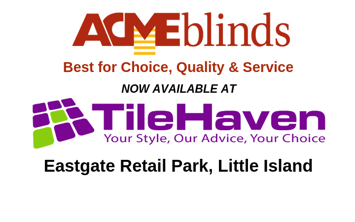 Find our full range in TileHaven, Little Island, Cork