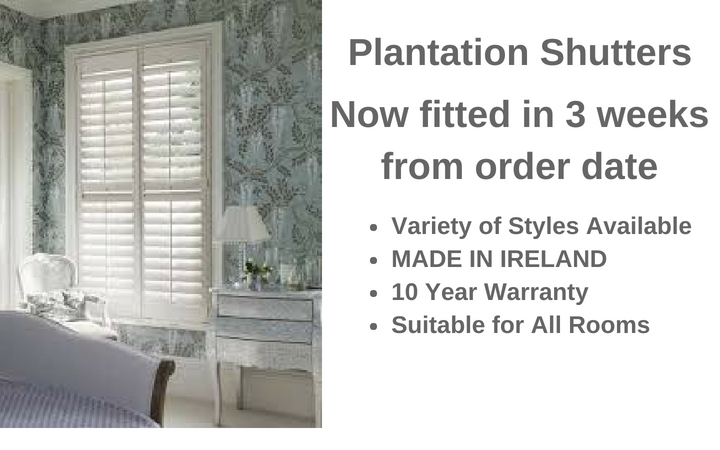 Beautiful Plantation Shutters fitted in 3 weeks