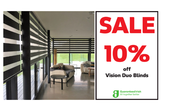 10% off Vision Duo Blinds